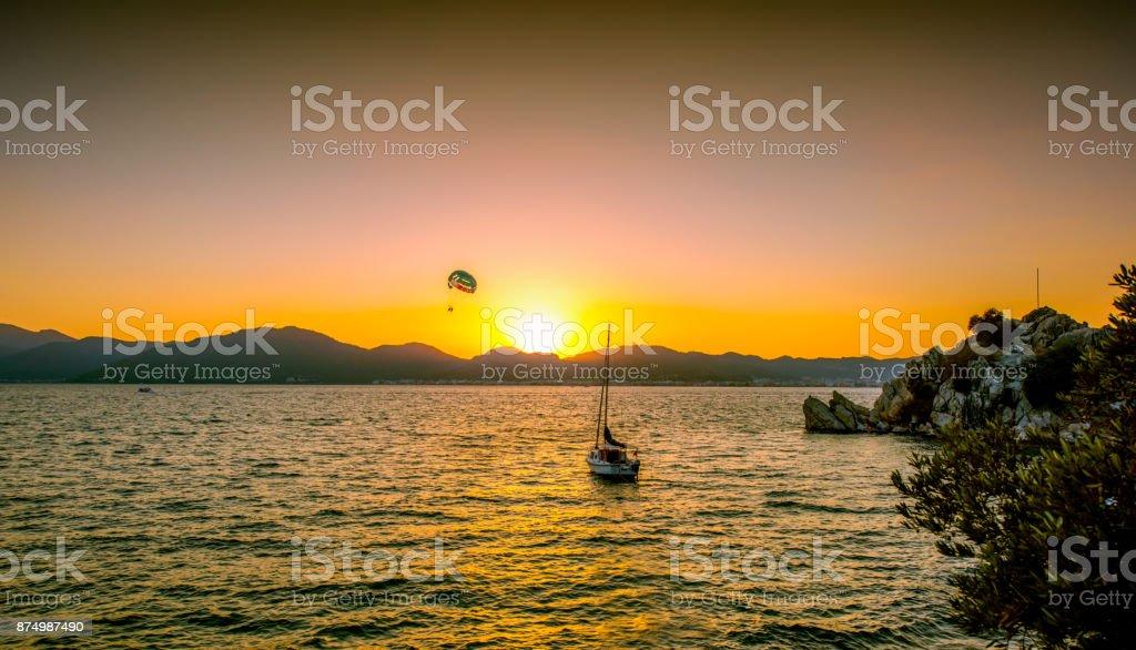 Marmaris - Turkey. September 16, 2016. Summertime in Marmaris. stock photo