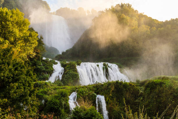 Cascata delle Marmore, Marmore's Falls (Umbria, Italy) Cascata delle Marmore, Marmore's Falls (Umbria, Italy) umbria stock pictures, royalty-free photos & images
