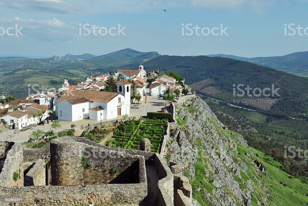 Marvão stock photo