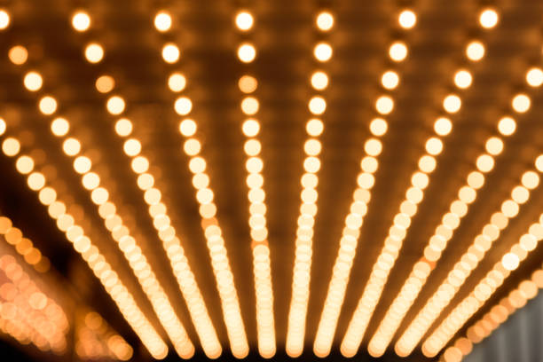 marquee lights - arts culture and entertainment stock pictures, royalty-free photos & images