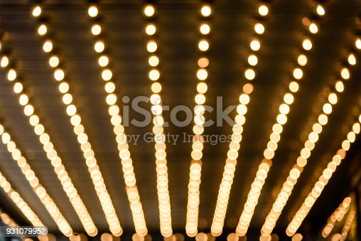 931079952 istock photo marquee lights 931079952
