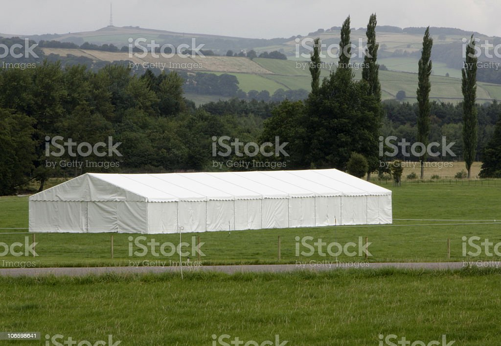 marquee tent royalty-free stock photo