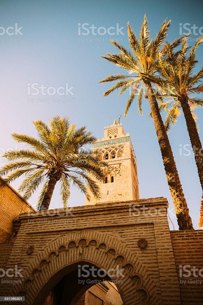 Marrakech Koutoubia stock photo