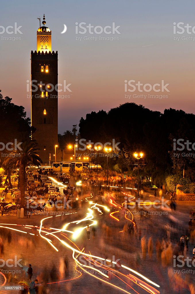 Marrakech stock photo