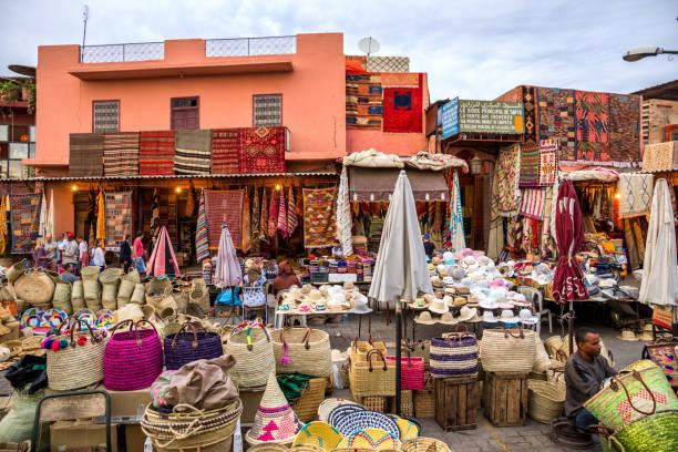 Marrakesh berber market – zdjęcie