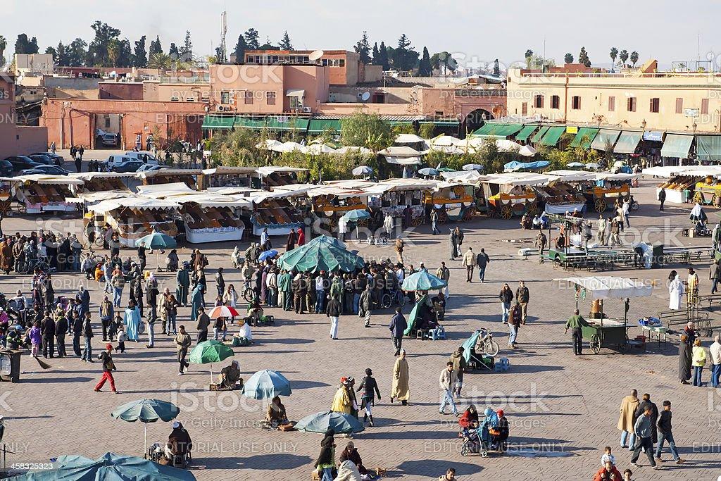 Marrakesh, Morocco royalty-free stock photo