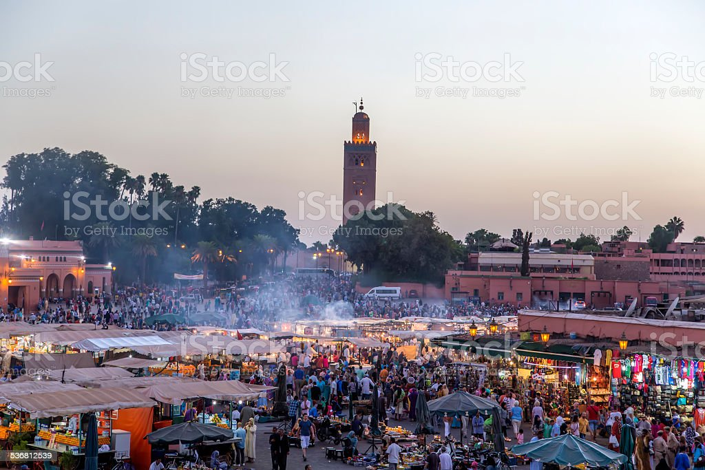 Marrakesh, Morocco stock photo