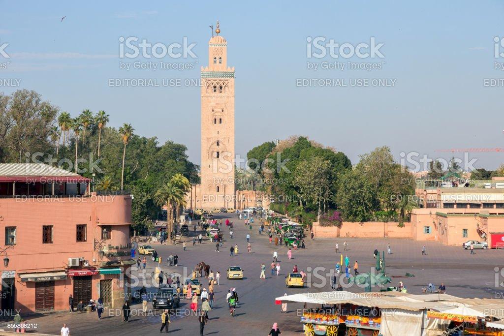 Marrakesh Morocco stock photo
