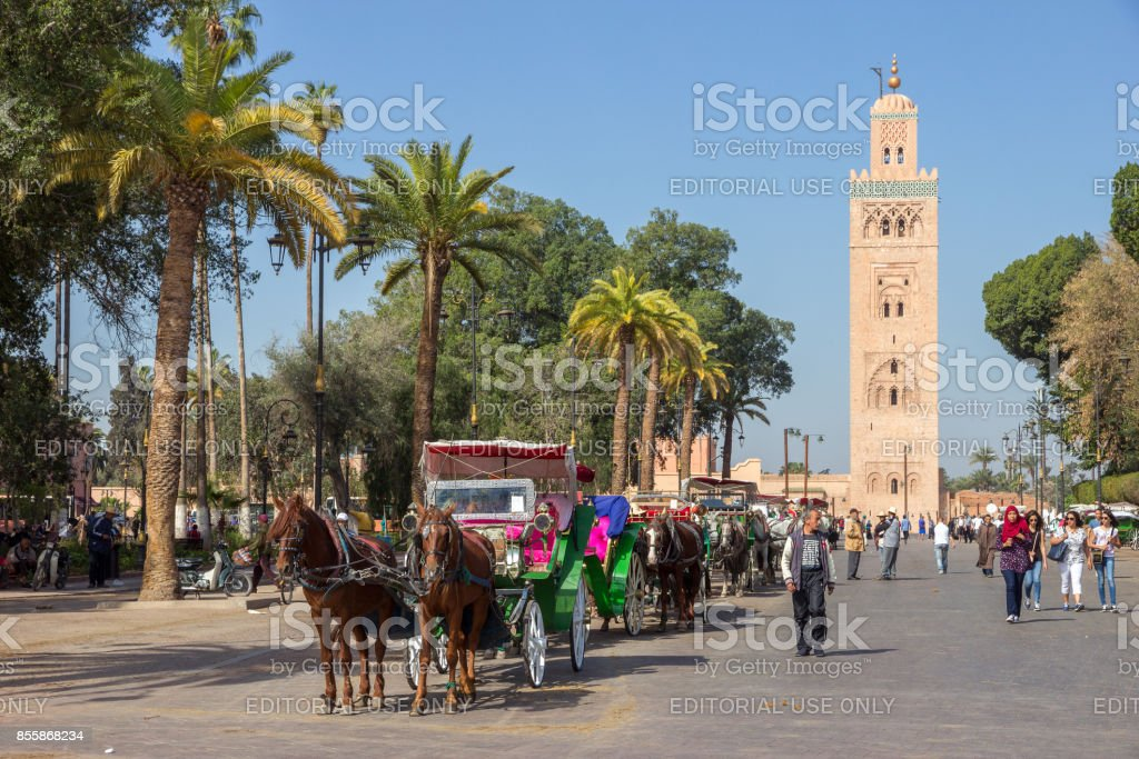 Marrakesh Morocco stock photo
