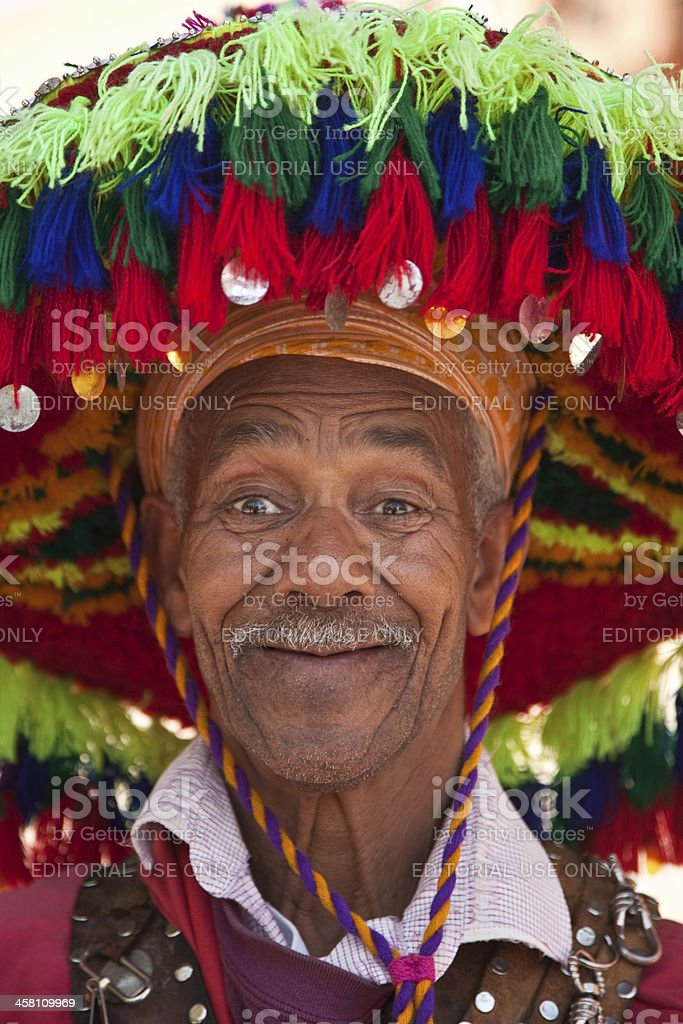 Marrakesh Water Seller royalty-free stock photo