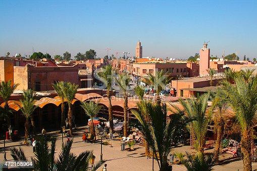 istock Marrakesh's Medina quarter 472158964