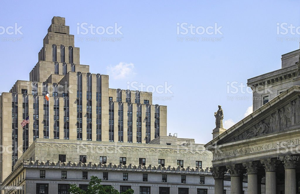 Marriage Bureau And Supreme Court New York City Stock Photo & More