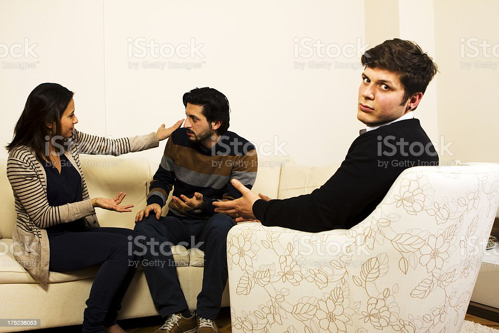 Marriage Counseling royalty-free stock photo