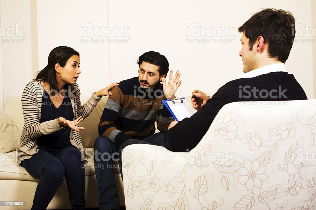 Marriage Counseling stock photo