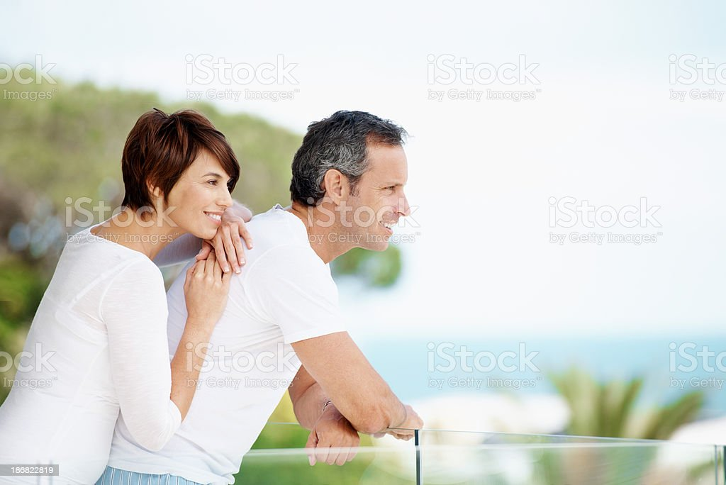 Marriage is a journey royalty-free stock photo