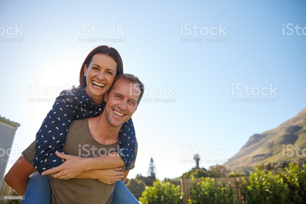 Marriage is the practice of becoming passionate friends stock photo