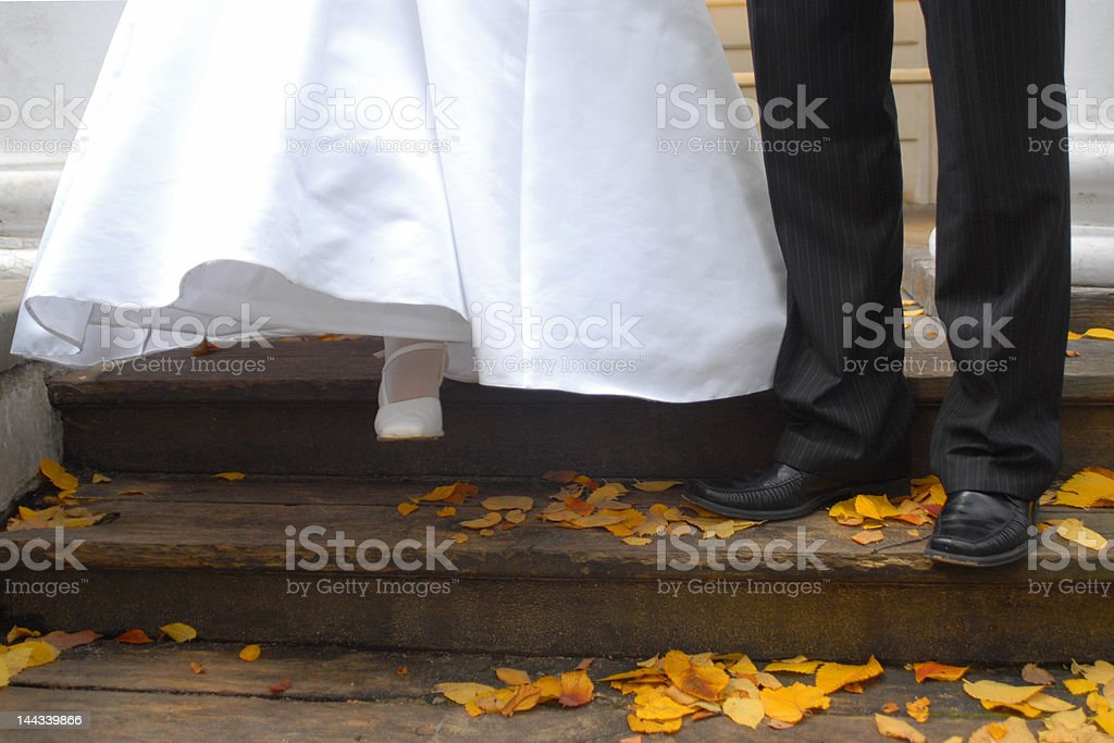 Married couple royalty-free stock photo