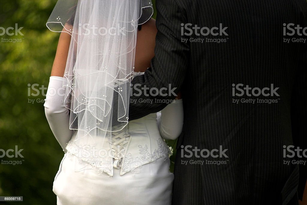 Married couple royalty free stockfoto