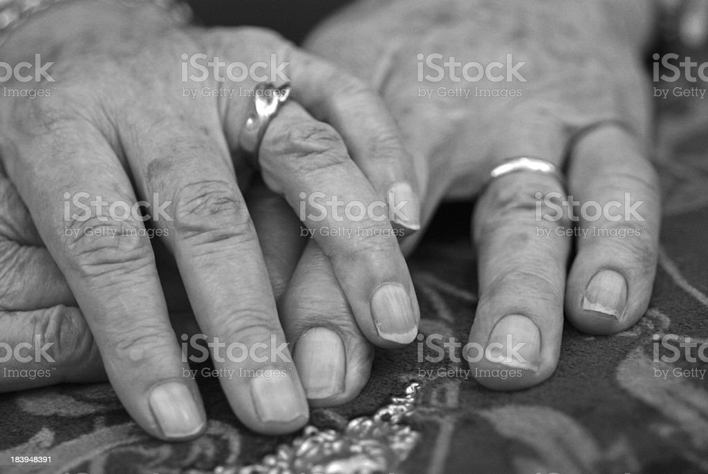Married FOREVER stock photo