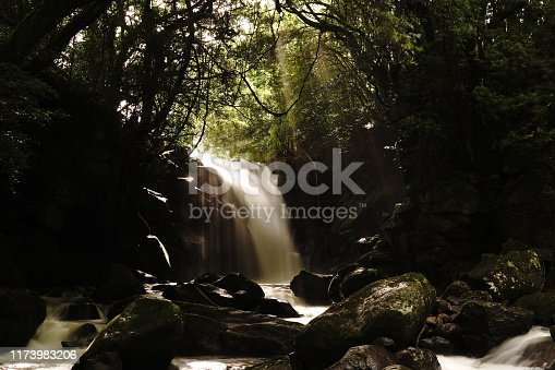 1131408581istockphoto Married waterfall where two river waterfalls join 1173983206