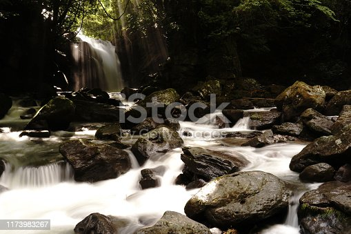 1131408581istockphoto Married waterfall where two river waterfalls join 1173983267