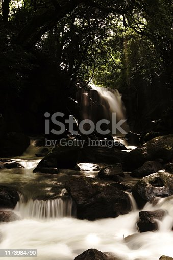 1131408581istockphoto Married waterfall where two river waterfalls join 1173984790