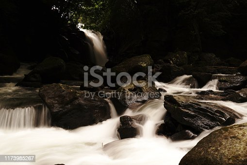 1131408581istockphoto Married waterfall where two river waterfalls join 1173985267