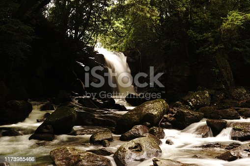1131408581istockphoto Married waterfall where two river waterfalls join 1173985466