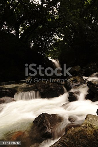 1131408581istockphoto Married waterfall where two river waterfalls join 1173985743