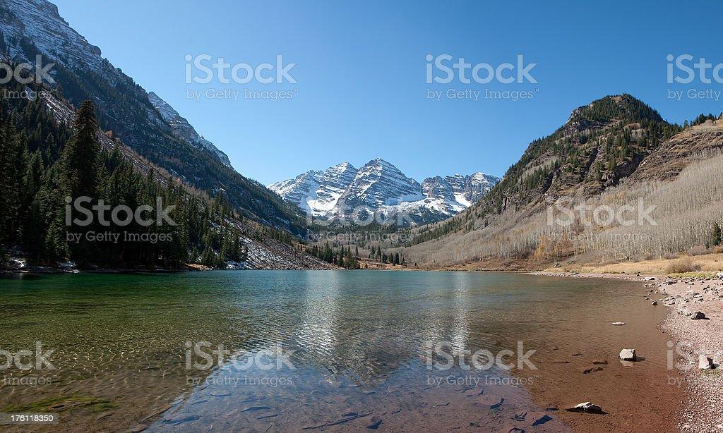 Marron Bells in Colorado royalty-free stock photo