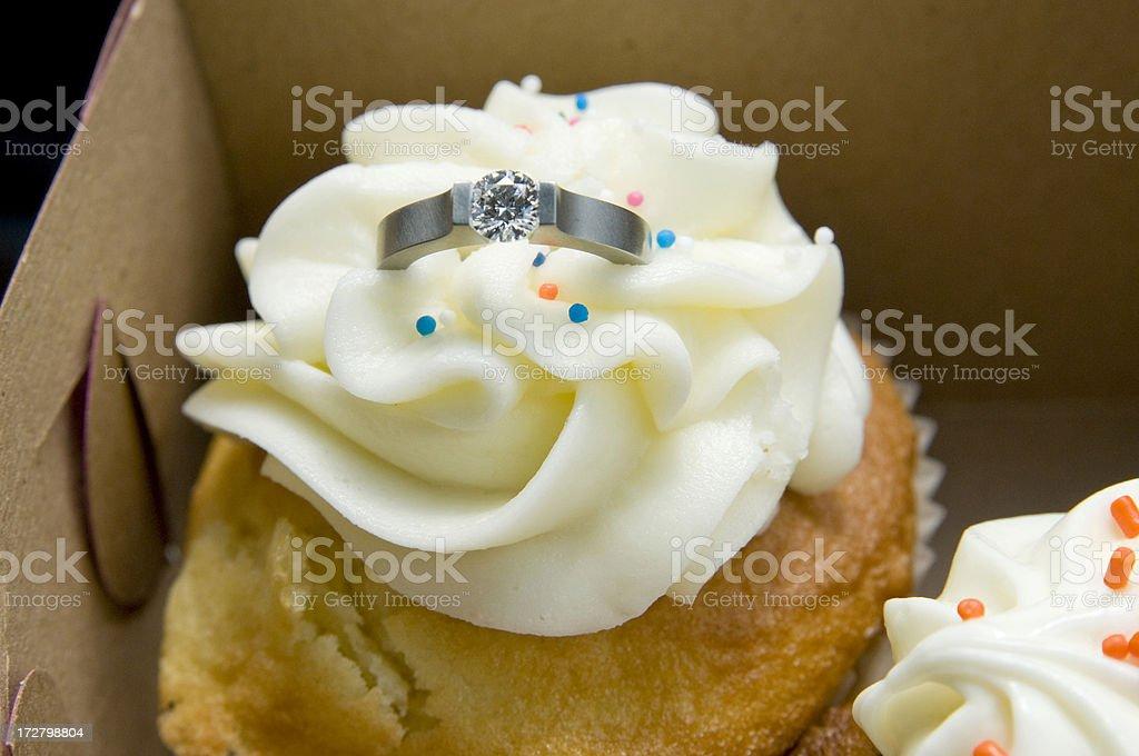 Heirate mich cupcake – Foto