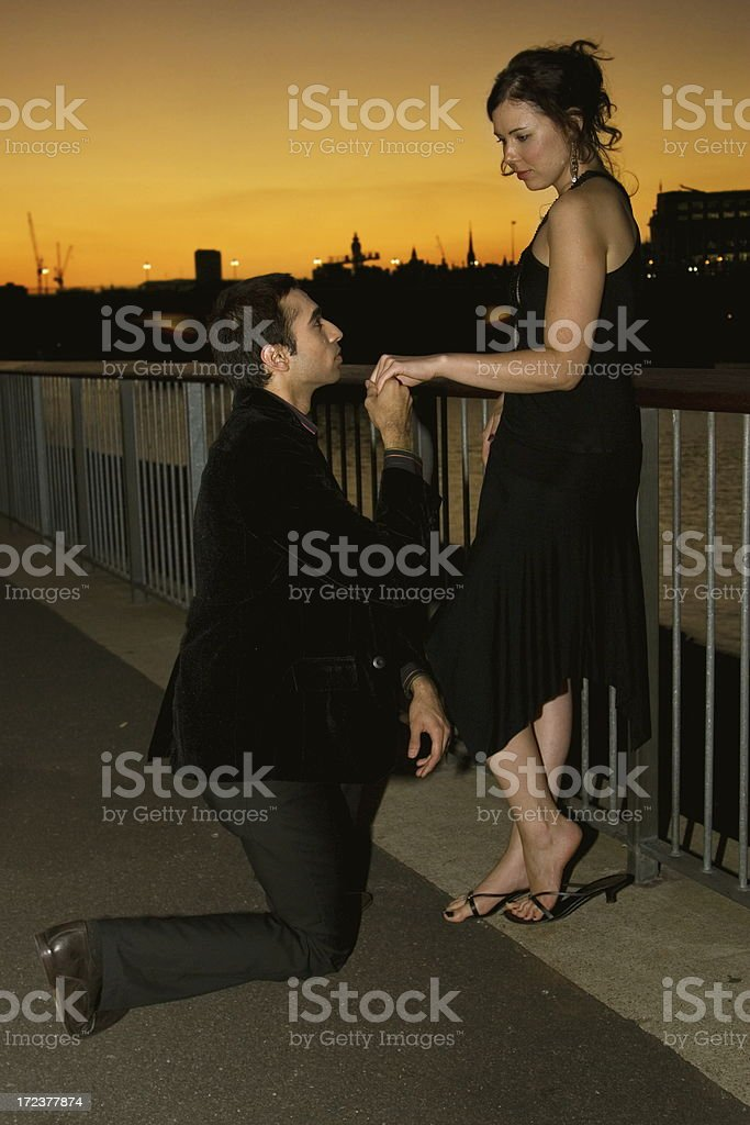 Marry me royalty-free stock photo