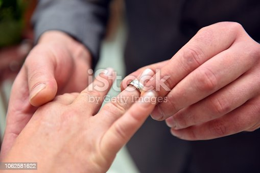 Marry, yes say, ring infect