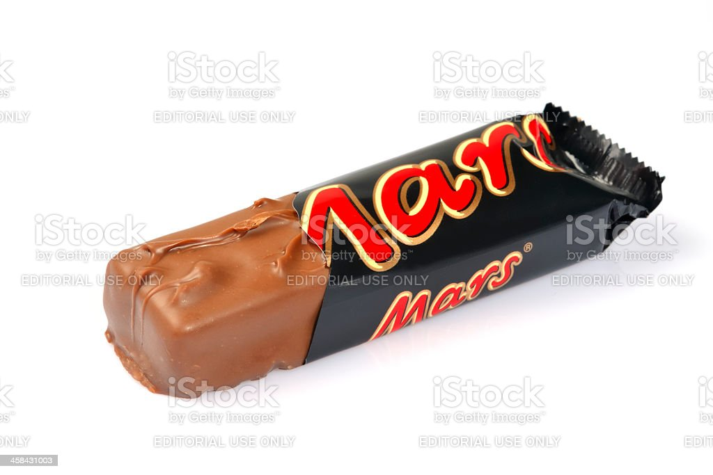 Mars candy bar royalty-free stock photo