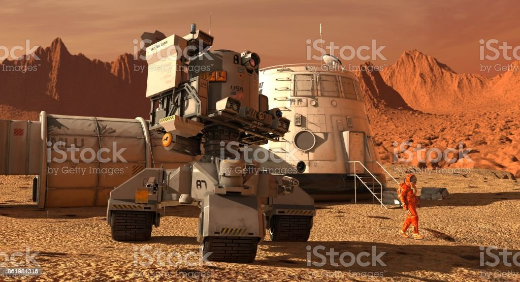 火星の植民地エイリアンの惑星に...