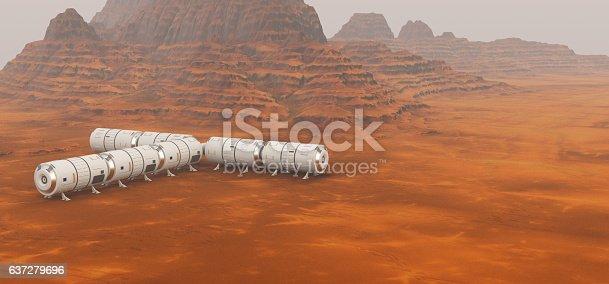 Mars exploration mission