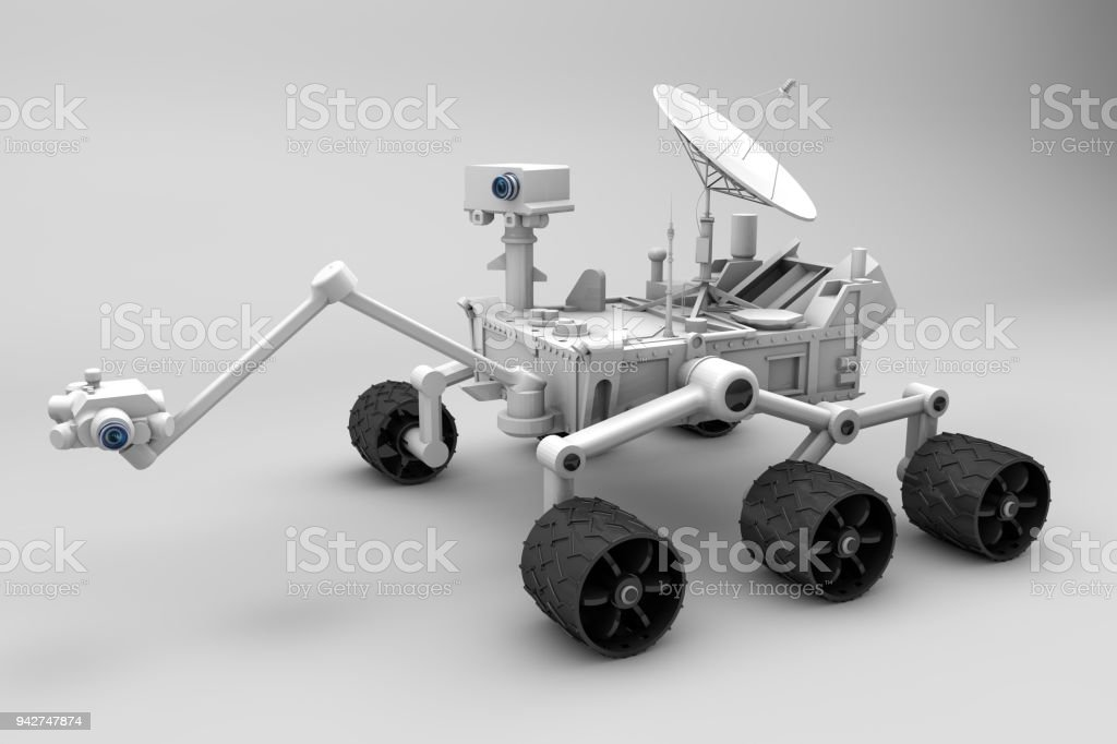 Mars Exploration Vehicle stock photo