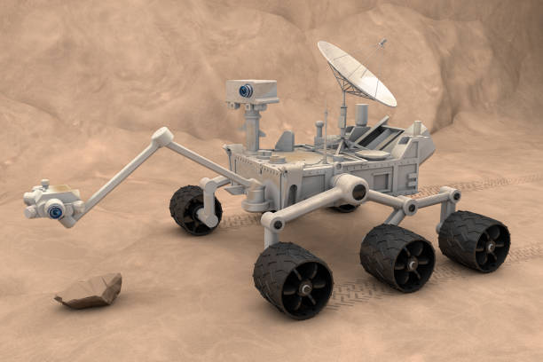 Mars Exploration Vehicle Mars exploration vehicle. rover stock pictures, royalty-free photos & images