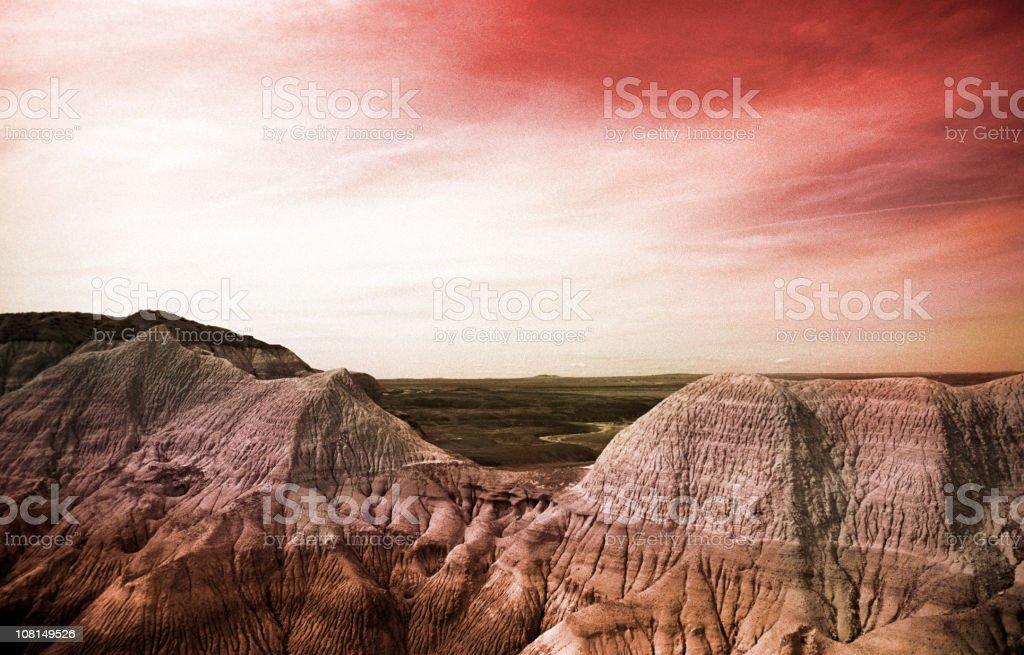 mars landscape royalty-free stock photo