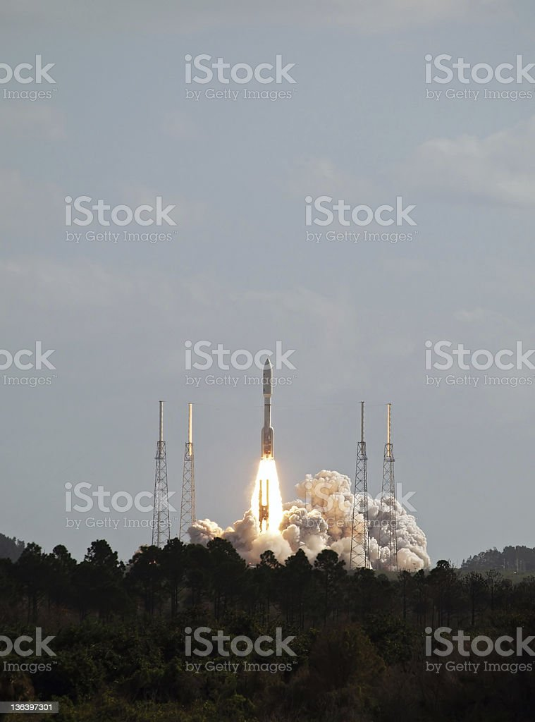 Mars Science Laboratory Launch stock photo