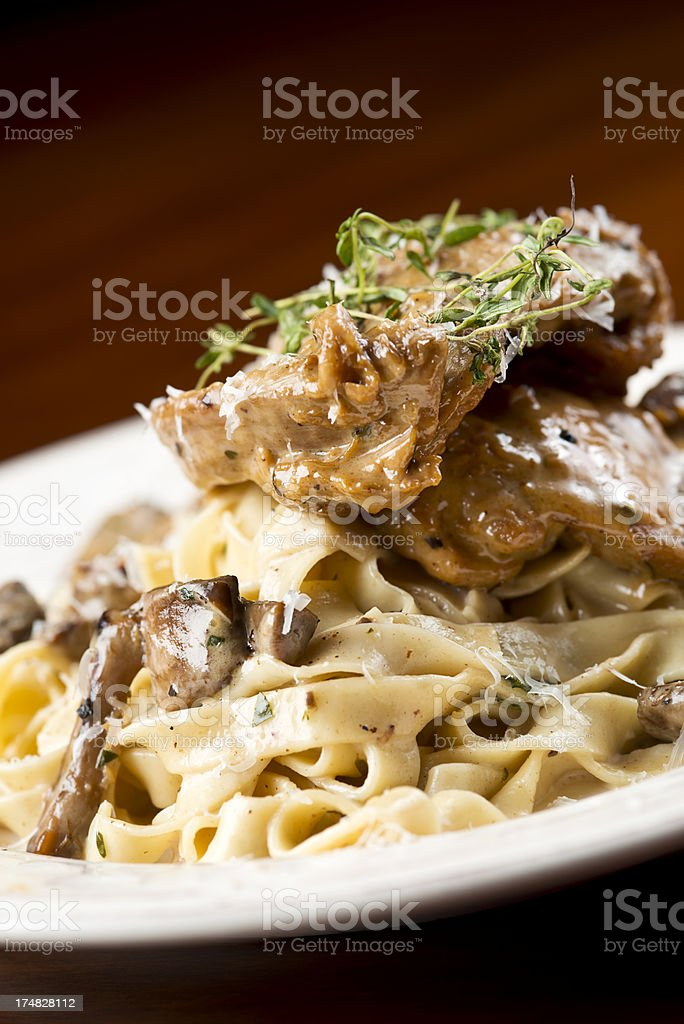 Marsala Chicken stock photo