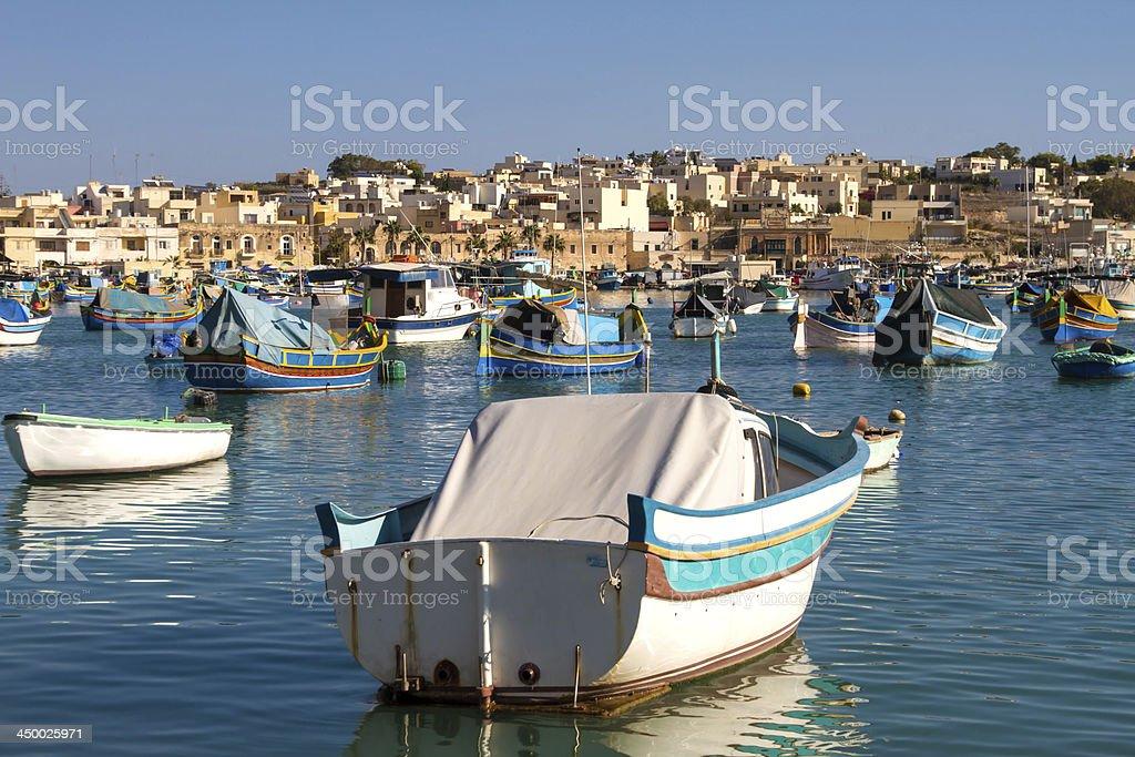 Marsaxlokk stock photo