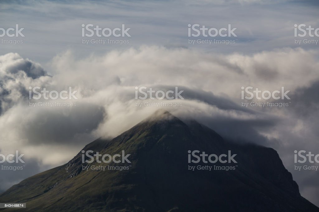 Marsco on the Isle of Skye stock photo
