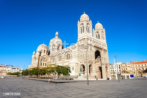 istock Marseille Cathedral catholic church, France 1266751534