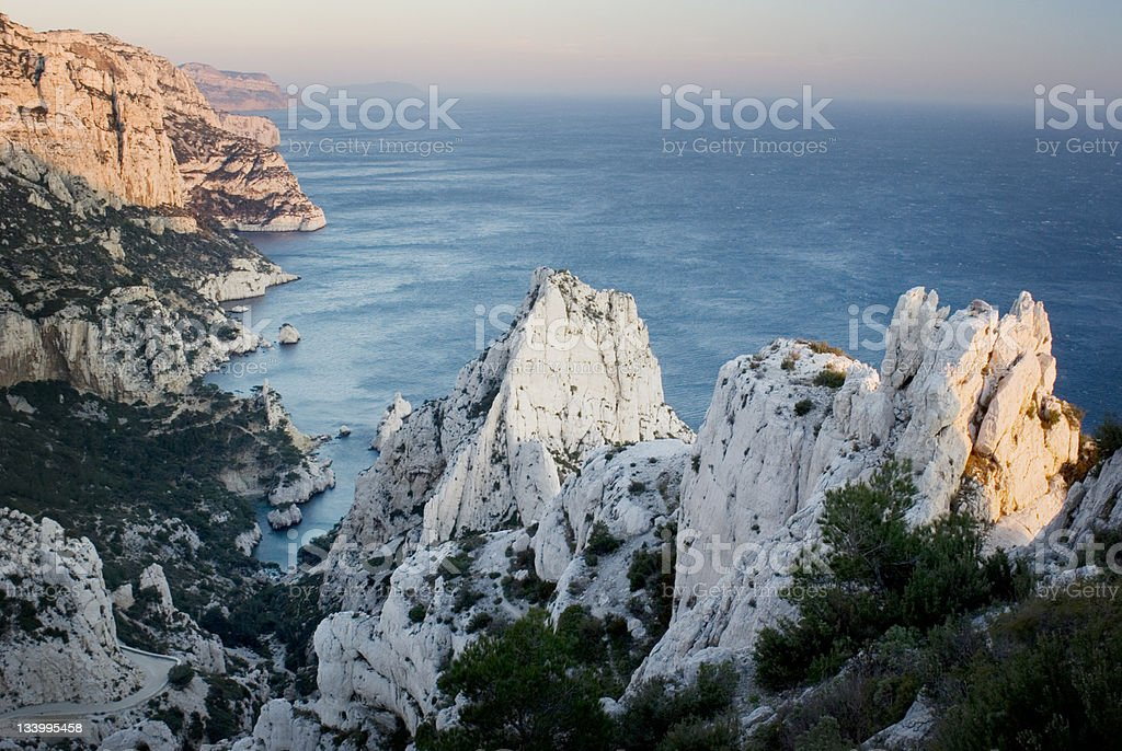 Marseille France calanques royalty-free stock photo