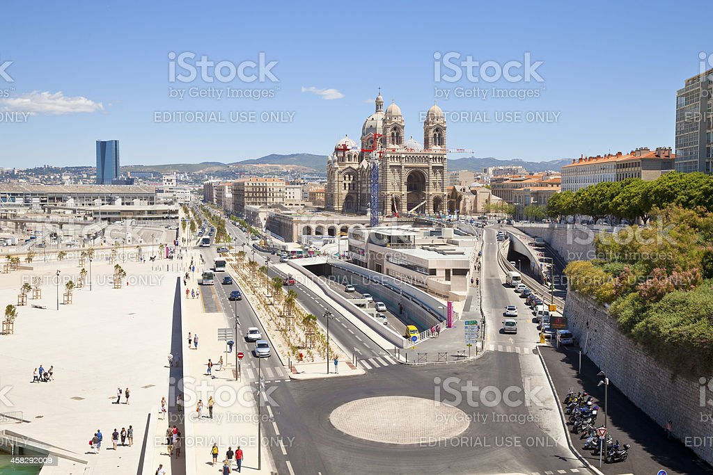 Marseille, France royalty-free stock photo