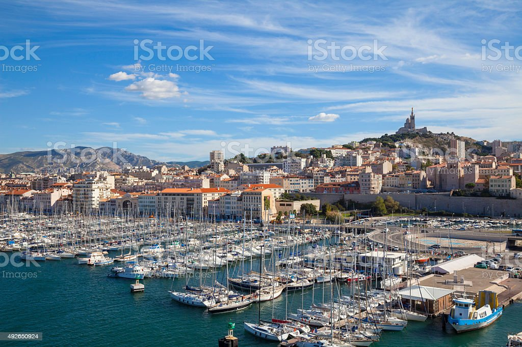 Marseille, France stock photo