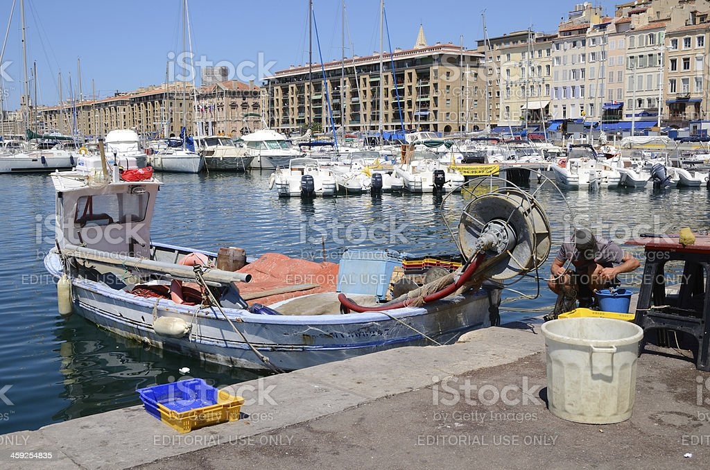 Marseille royalty-free stock photo