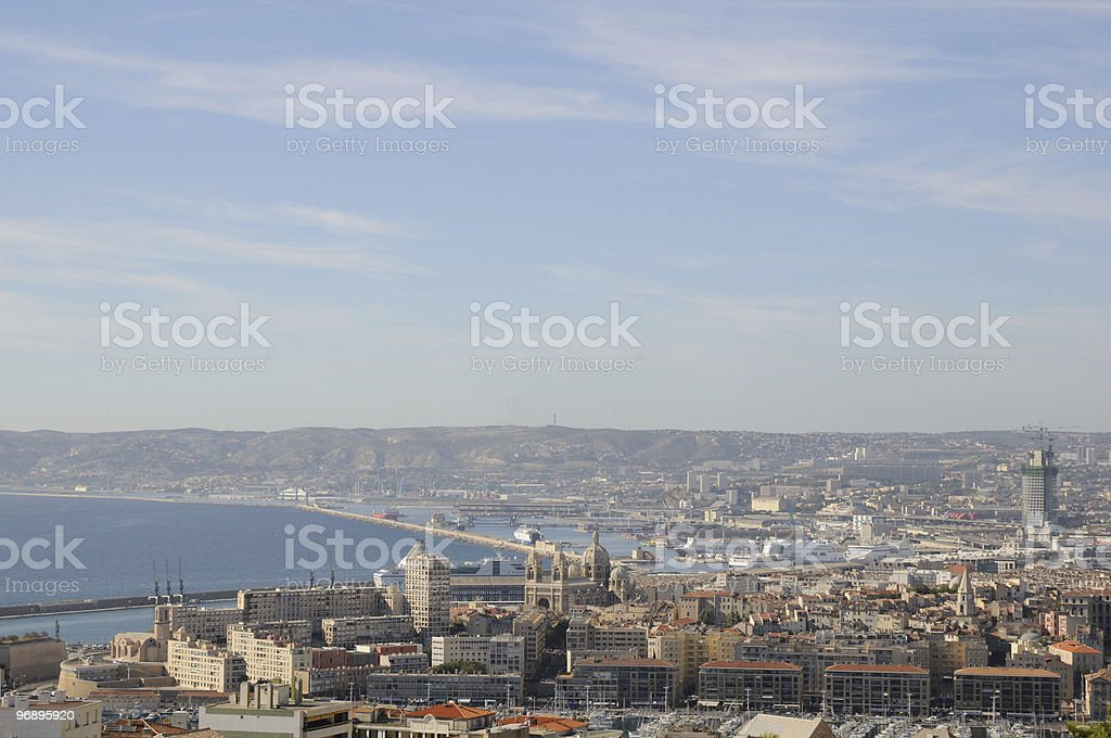 Marsiglia royalty-free stock photo