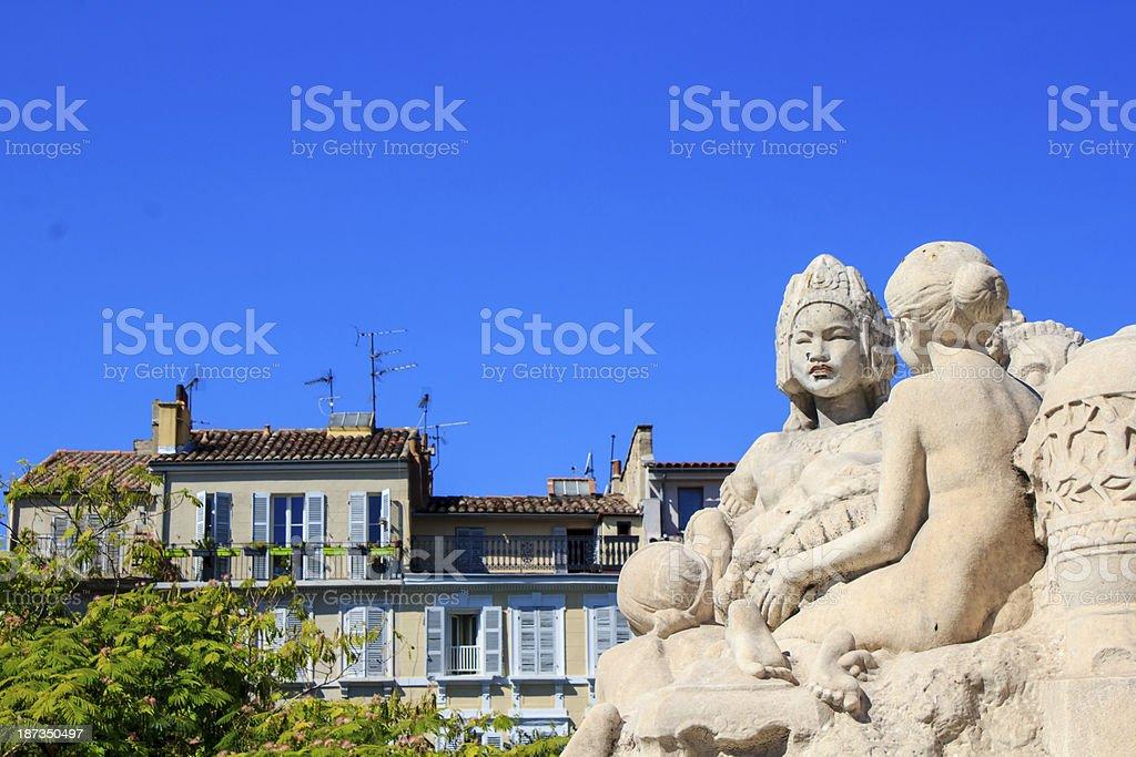 Marseille Saint-Charles royalty-free stock photo
